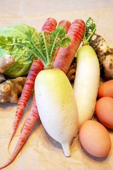 無農薬野菜3